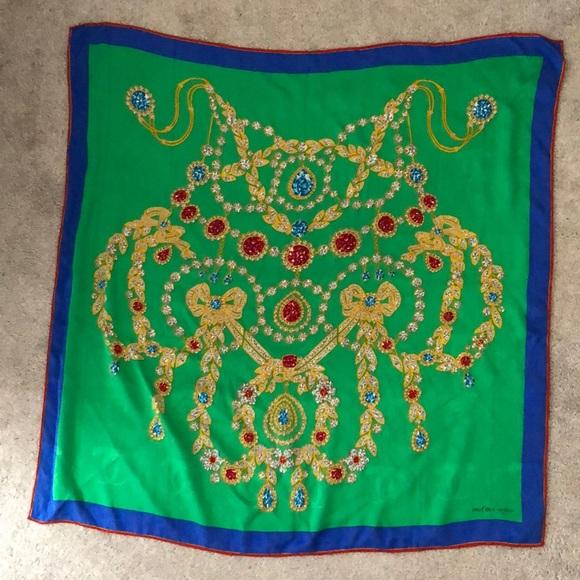 CARTIER Silk scarf - Authentic
